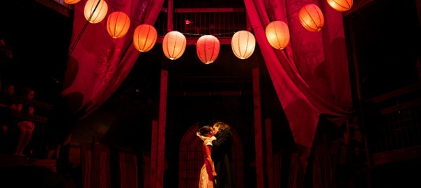 Scène du baiser Roméo et Juliette