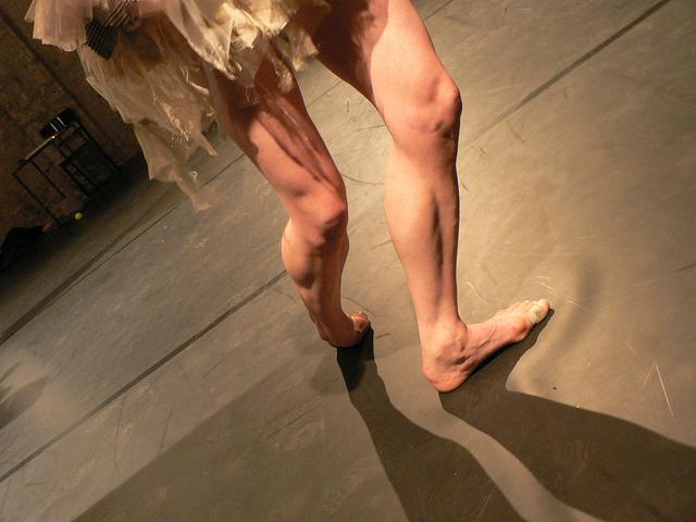 danseuse blessée