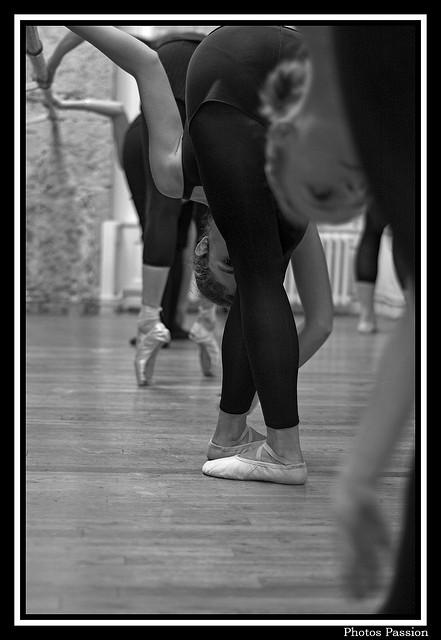 Répétition de danse classique