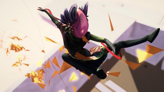 Image extraite du jeu vidéo Bound.