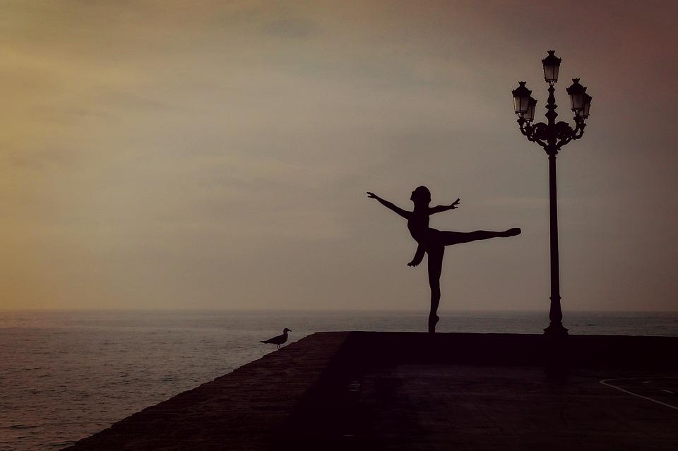 Danser en mer.