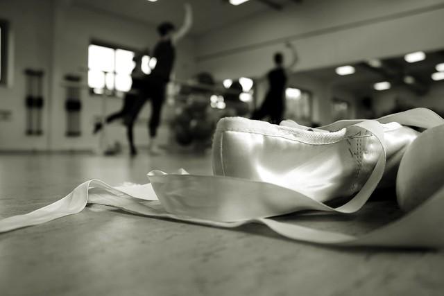 Entrainement de danse classique.