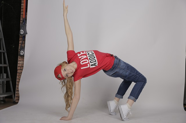 Danseuse de hip-hop.
