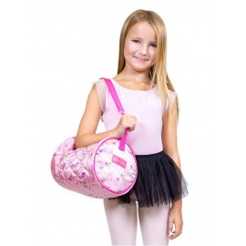 sac de danse CAPEZIO SOME BUNNY LOVES YOU BARREL BAG enfant