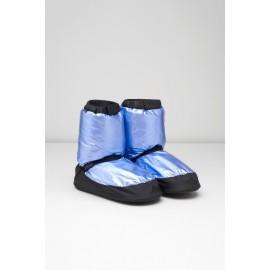 Bottes de chauffe danse BLOCH METALLIC WARM UP BOOTIES bleu clair