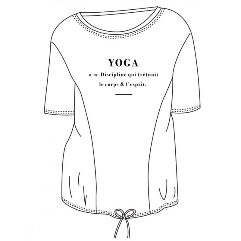 tee-shirt yoga TEMPS DANSE ARKADIA DEFINITION