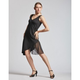 robe danses latines TEMPS DANSE DALIA black