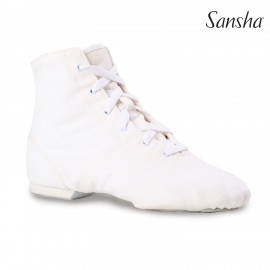 Bottines jazz toile SANSHA SOHO JB3C couleur