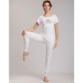 tee-shirt  yoga TEMPS DANSE AVA DEFINITION