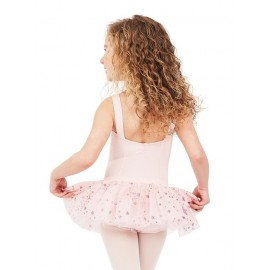 tutu fantaisie enfant CAPEZIO 11621C SHOOTING STAR TANK DRESS