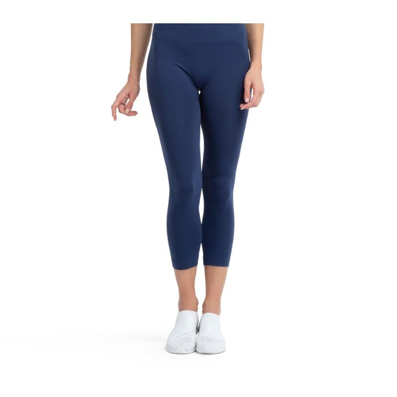leggings taille haute REPETTO seamless bleu nocturne