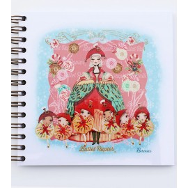 carnet de notes BALLET PAPIER NUTCRACKER