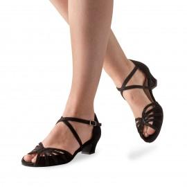 Chaussures de danse de salon WERNER KERN TOMKE FEMME daim noir