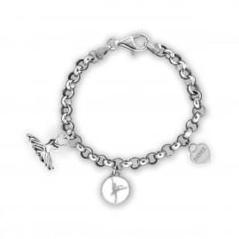 bracelet danseuse MIKELART 3 CHARMS