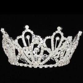 diadème couronne royale DASHA DESIGNS ROYAL CROWN 2809
