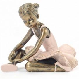 Statuette Résine Danseuse assise bras sous la jambe DASHA DESIGNS