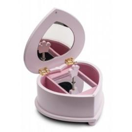 boîte à musique bijoux KATZ Coeur petit modèle