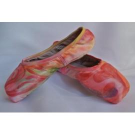 """chaussons de danse pointes décorés main SÈV """"LOVE IS ROCK"""" sur Capezio Développé"""