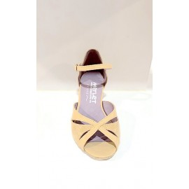 Chaussures de danse de salon MERLET KALIS 1300-112 FEMME cachemire