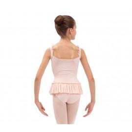 tunique danse classique REPETTO à fines bretelles enfant rose pétale