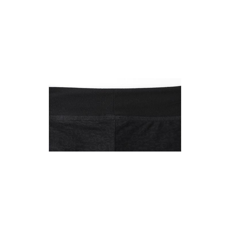 legging REPETTO en maille dévorée noir