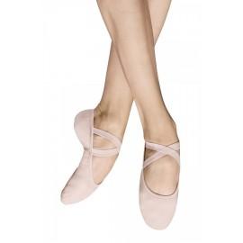 chaussons de danse demi-pointes BLOCH PERFORMA toile theatrical pink femme