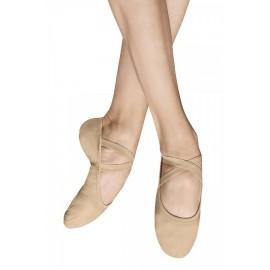 chaussons de danse demi-pointes BLOCH PERFORMA toile sand femme