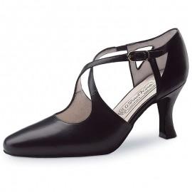 Chaussures de danse de salon WERNER KERN INES FEMME cuir noir
