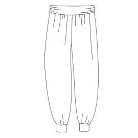 pantalon danse TEMPS DANSE BATISTA style oriental