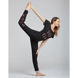 tee-shirt  yoga TEMPS DANSE AVA YOGA