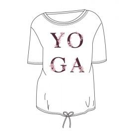 tee-shirt  yoga TEMPS DANSE AGATHE YOGA