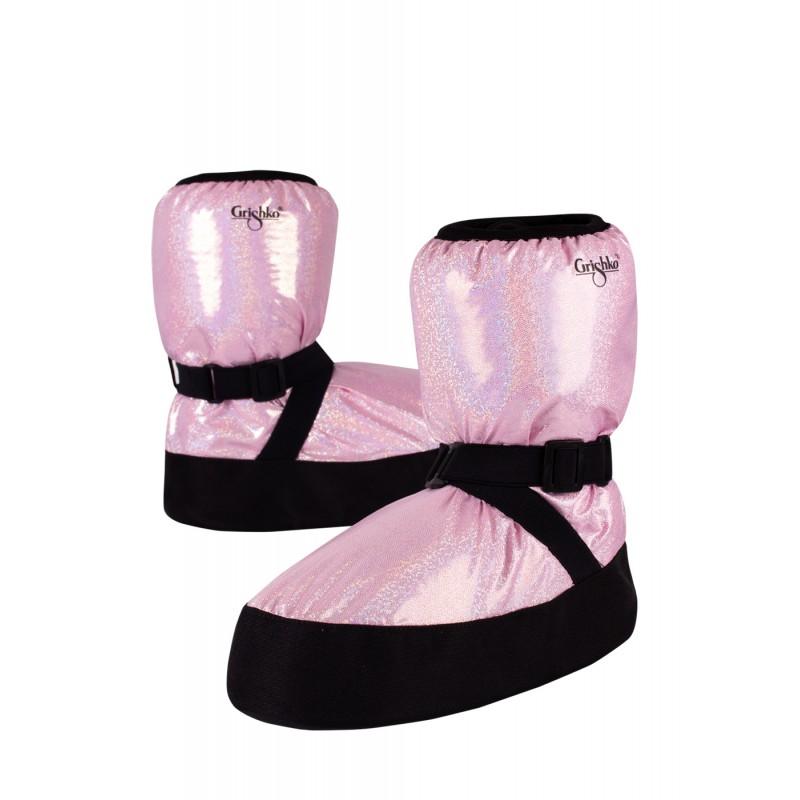 Boots d'échauffement danse GRISHKO M-68/1 Bubble Gum
