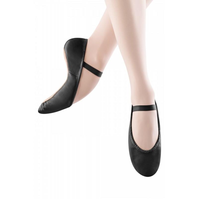 chaussons de danse demi-pointes BLOCH DANSOFT noir adulte