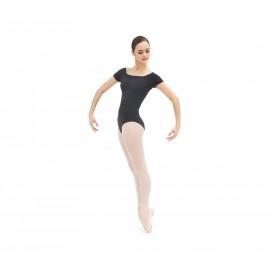 Justaucorps danse REPETTO manches courtes noir