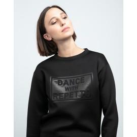 sweat REPETTO Dance With Repetto noir