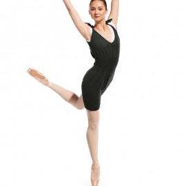 académique de danse court GAYNOR MINDEN ITALIAN KNIT ROMPER