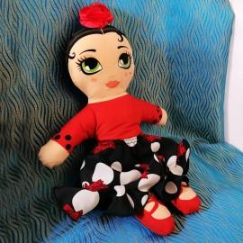 poupée flamenco BEGOÑA CERVERA MARIA LA XHULA