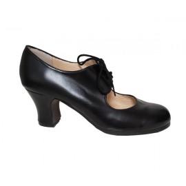 chaussures de danse flamenco BEGOÑA CERVERA M29 CORDONERA BASICO