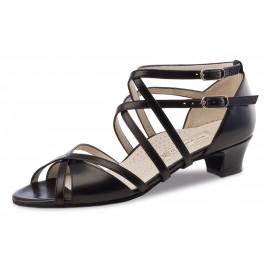 Chaussures de danse de salon WERNER KERN EVA femme cuir noir