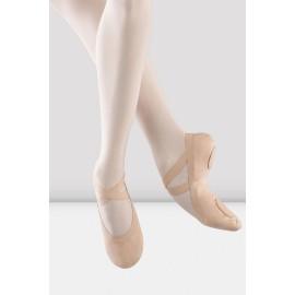 chaussons de danse demi-pointes BLOCH PRO ELASTIC PINK