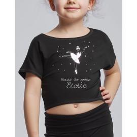 t-shirt court TEMPS DANSE AGILE JR ETOILE enfant