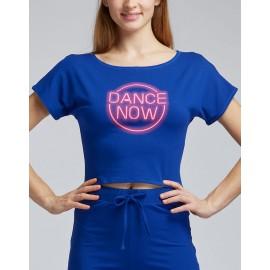 t-shirt court danse TEMPS DANSE AGILE GRAFIK adulte
