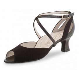 chaussure danse sportive femme WERNER KERN TIZIANA daim noir