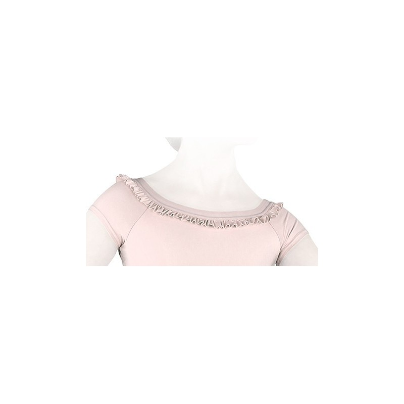 Justaucorps danse REPETTO fantaisie enfant rose pétale