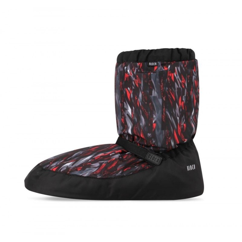 Bottes de chauffe danse BLOCH WARM UP BOOTIE IM009P GEOMETRIC