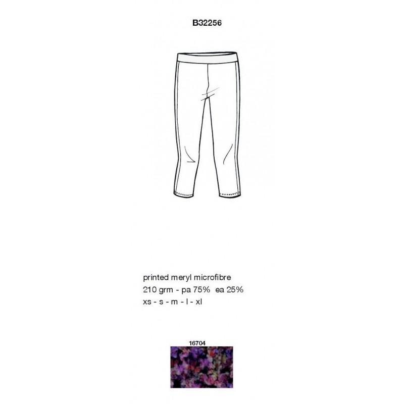 pantalon capri DEHA impression florale