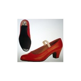 chaussures de danse flamenco BALL PILMAR daim