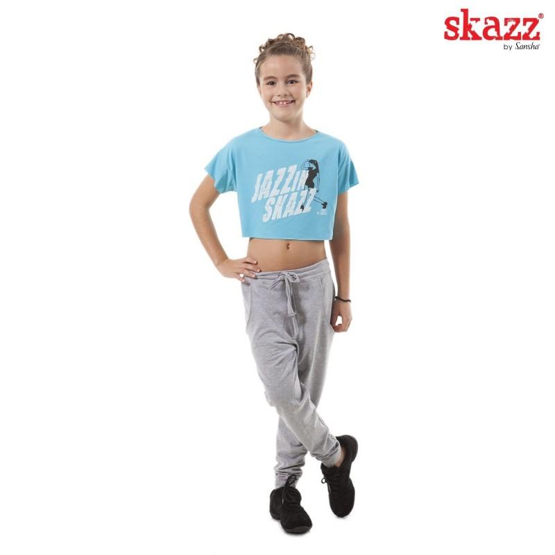 tee-shirt jazz-hip hop SANSHA Jazz in Skazz enfant