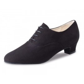 Chaussures de danse de salon WERNER KERN OLIVIA FEMME daim noir