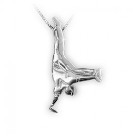 pendentif MIKELART danseur de HIP HOP